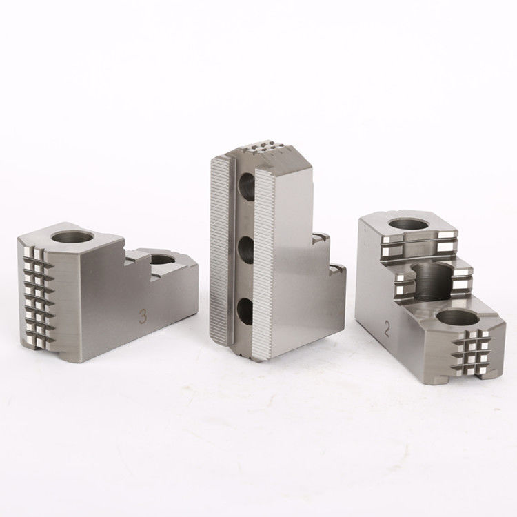 HIGH PRECISION HARDENED JAWS FOR HYDRAULIC CHUCK , HARD TOP JAWS OEM ODM